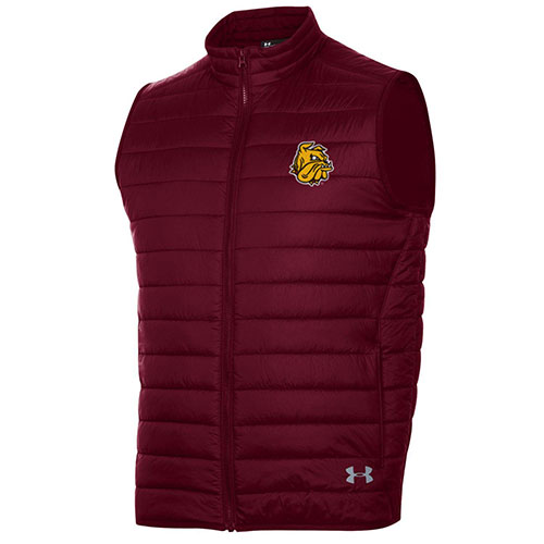 Image For *Bulldog Head Puffer Vest by Under Armour