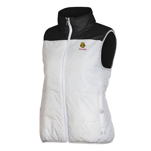 Image For *Women's Bulldogs Reversible Puffer Vest by Under Armour