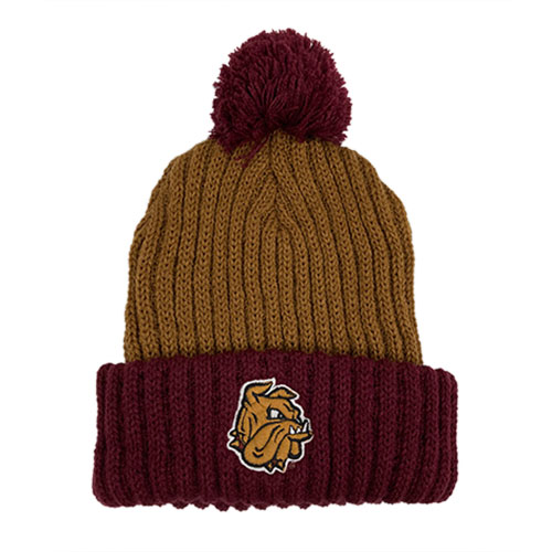 Cover Image For *Bulldog Head Pompom Hat by Legacy