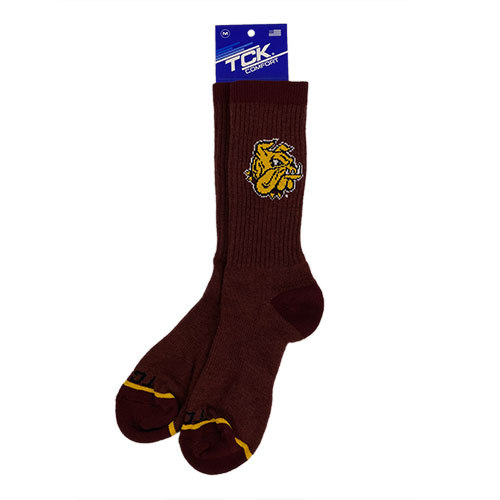 Image For *Bulldog Head Merino Wool Blend Socks by TCK