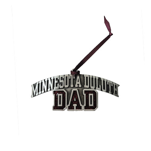 Image For *Minnesota Duluth Dad Pewter Ornament by RFSJ