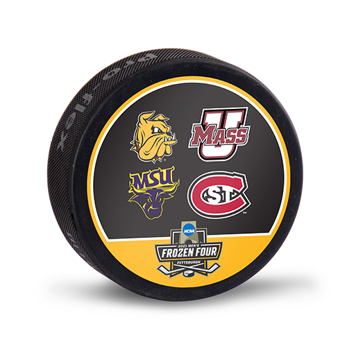 Cover Image For *2021 Men's Frozen Four 4-TEAM Puck