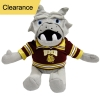 Cover Image for UMD Plush Champ Bulldog with Collar by Mascot Factory