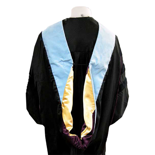 Image For Doctorate Hood: Education / Light Blue