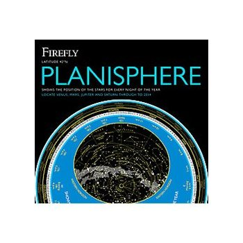 Cover image of Firefly Planisphere: Latitude 42 Degrees North