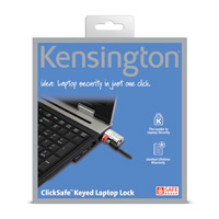 Image For ClickSafe™ Keyed Laptop Lock by Kensington