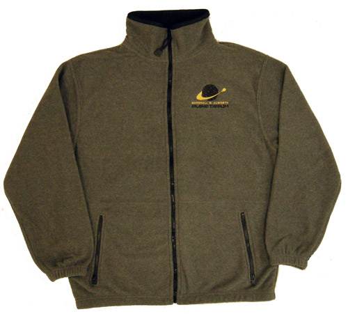Image For Marshall W. Alworth Planetarium Fleece Jacket by CI Sport
