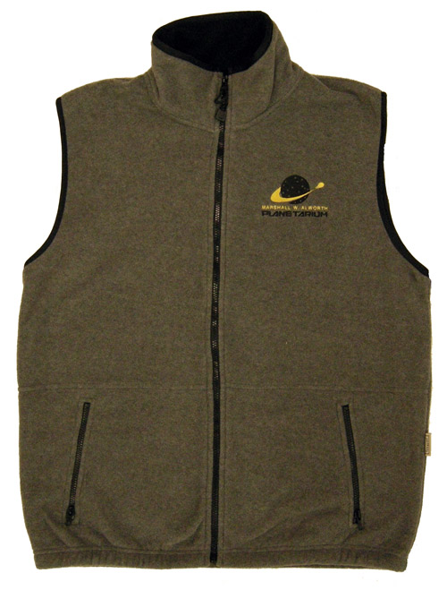 Image For Planetarium Fleece Vest by CI Sport
